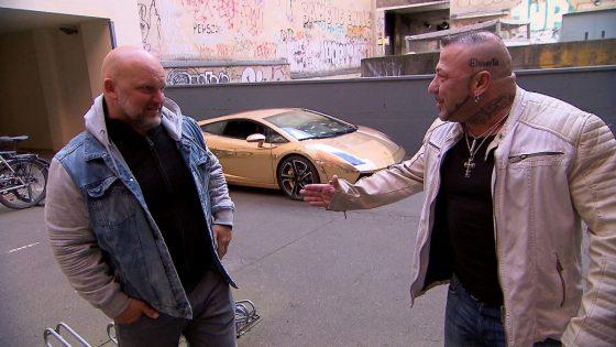 "Joe und Fabrizio bei ""Berlin - Tag & Nacht"""