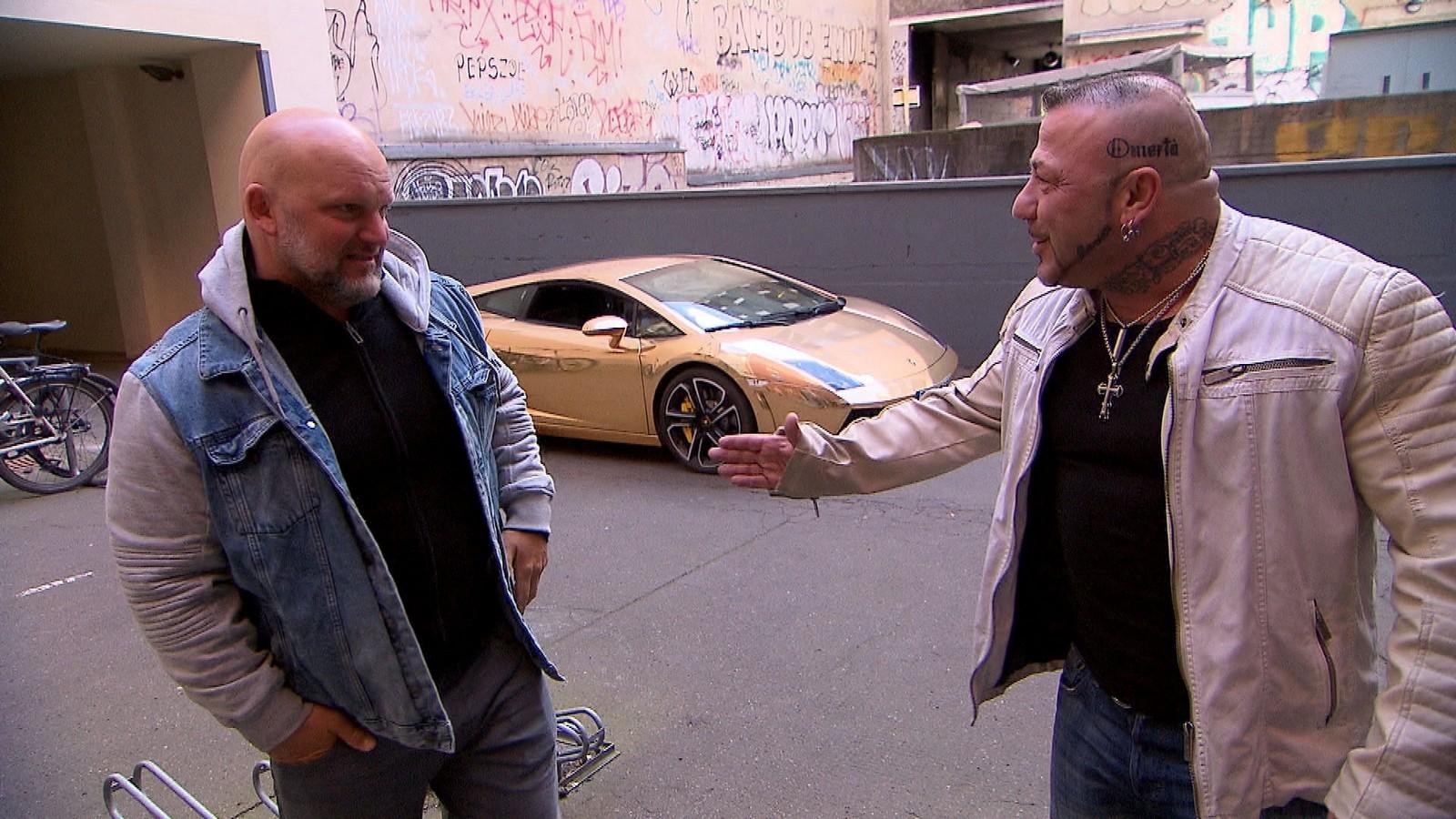 Joe und Fabrizio bei