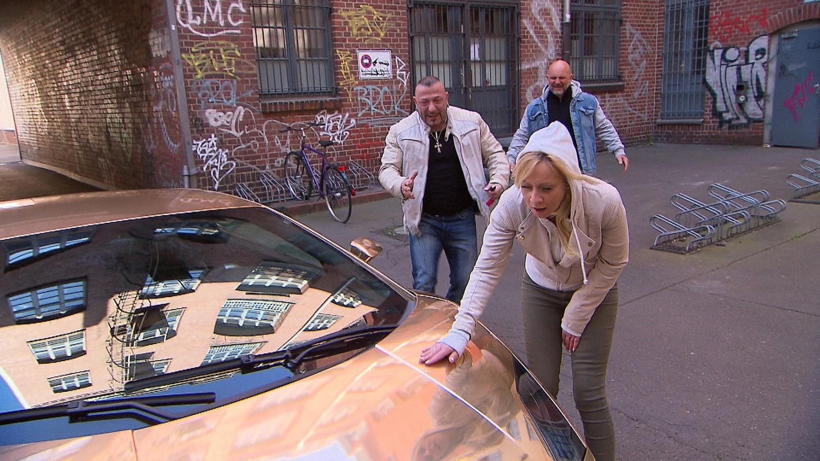 "Fabrizio, Peggy und Joe bei ""Berlin - Tag & Nacht"""