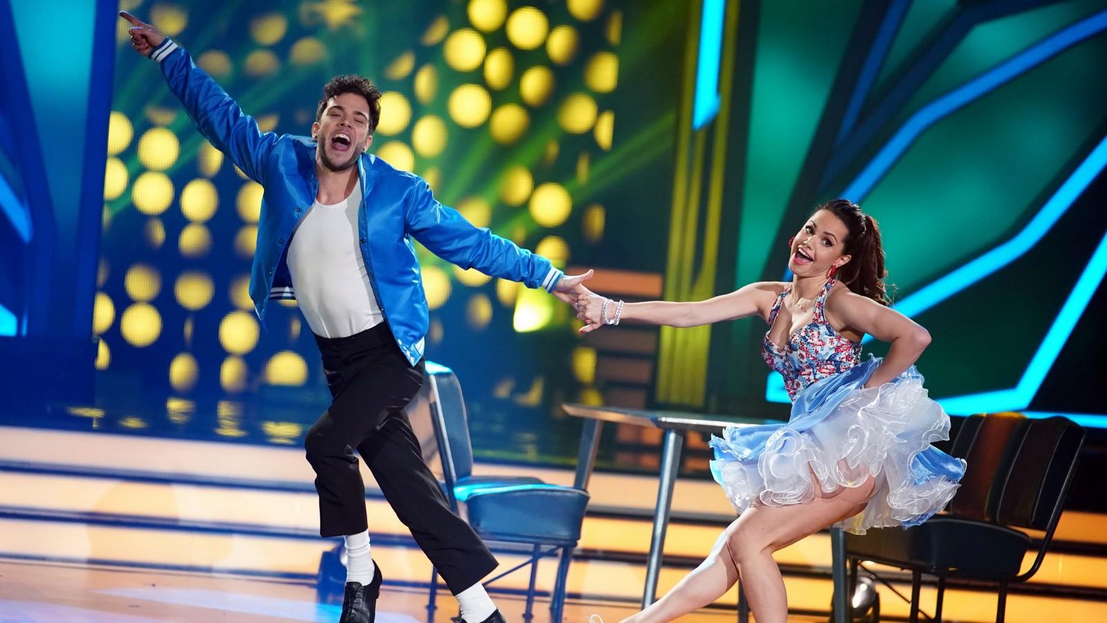 Luca Hänni und Christina Luft