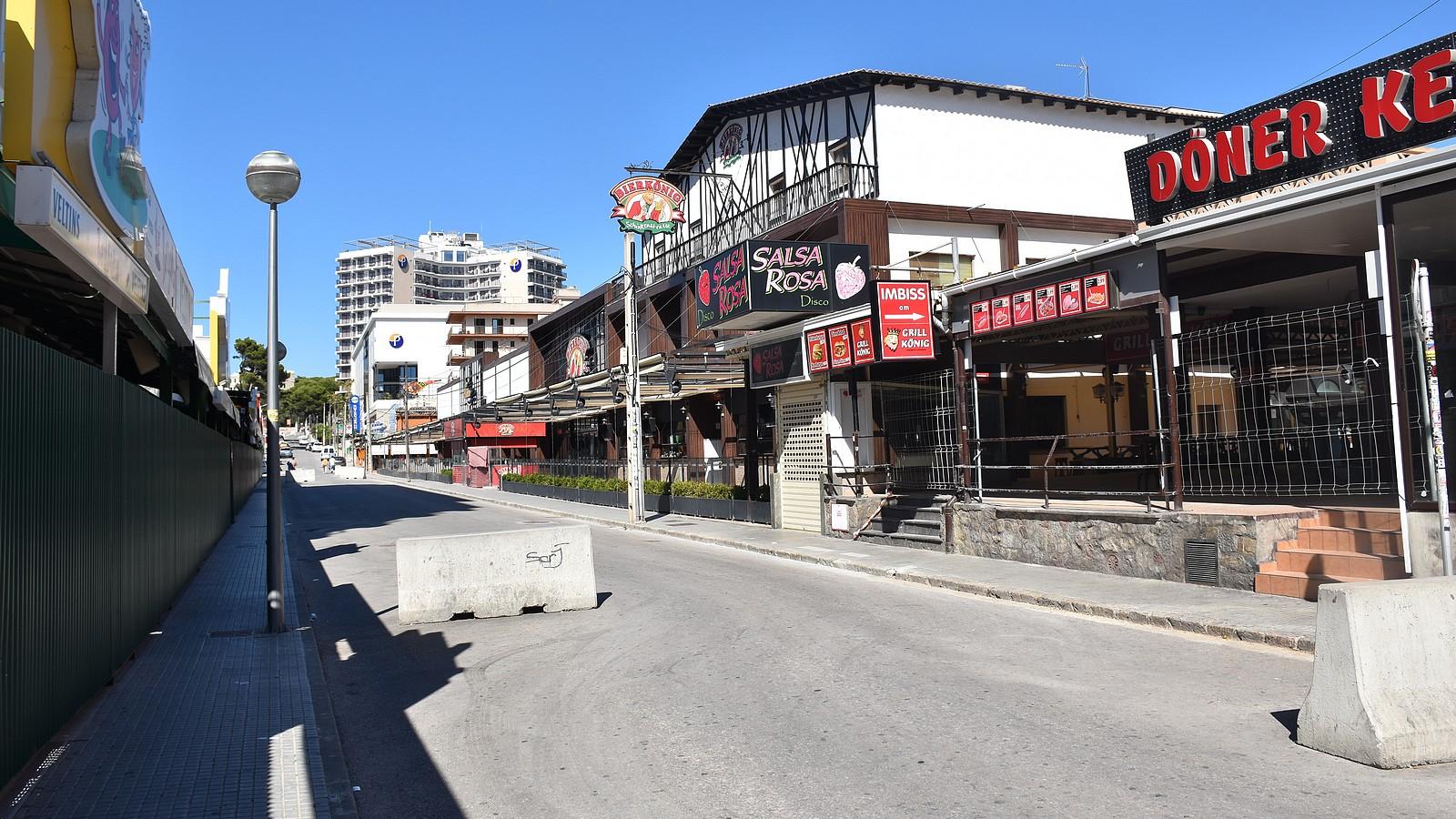 Schinkenstraße auf Mallorca