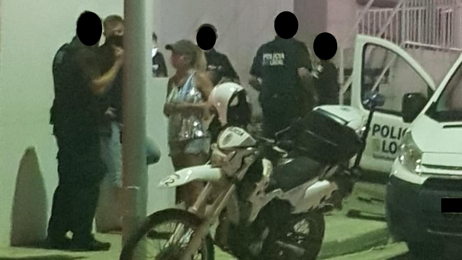 Polizeieinsatz bei Krümel