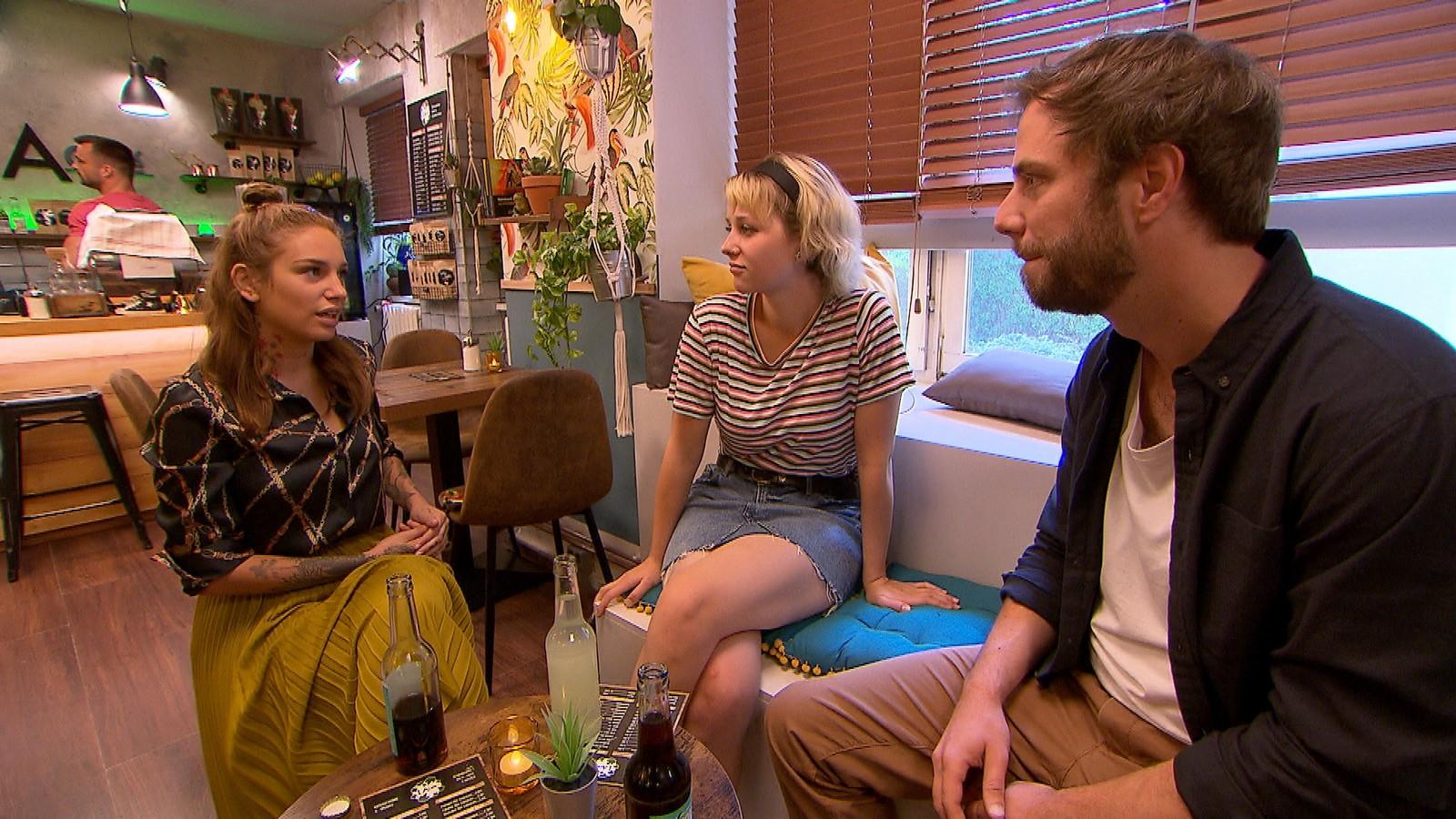 Milla, Amelie und Eric bei