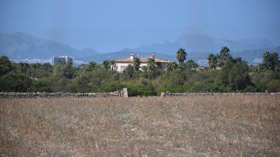 Die Villa von