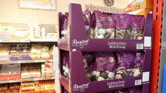 Lebkuchen in Supermärkten