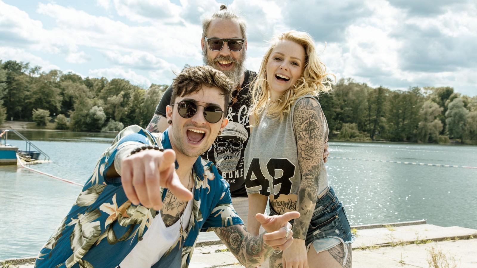 """Jannes, Theo und Emmi bei """"Berlin - Tag & Nacht"""""""
