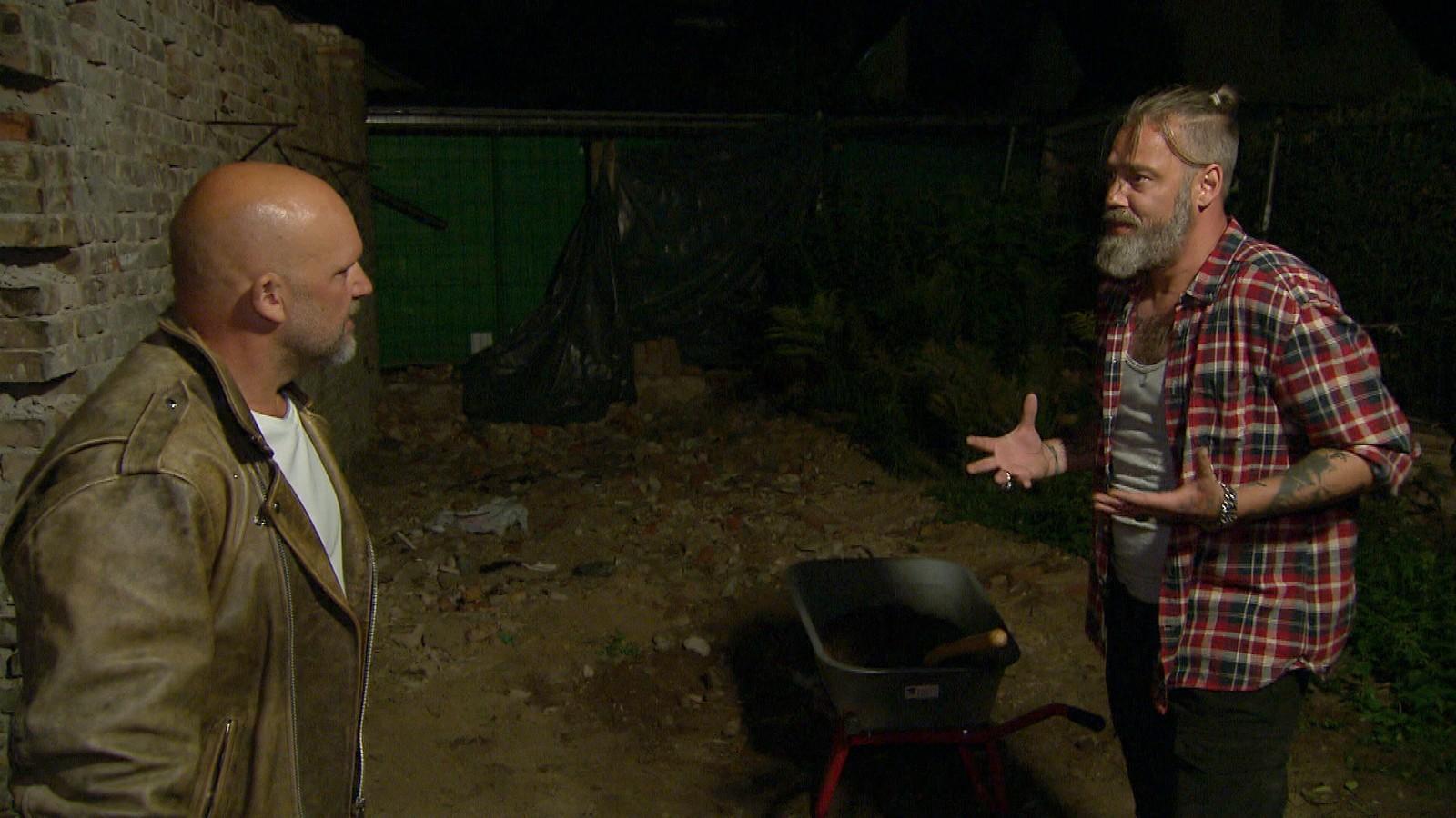 """Joe und Theo bei """"Berlin - Tag & Nacht"""""""