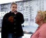Estefania Wollny protestiert gegen Maskenpflicht!