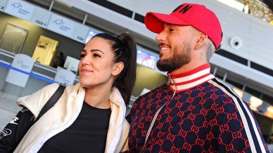 Elena Miras und Mike Heiter