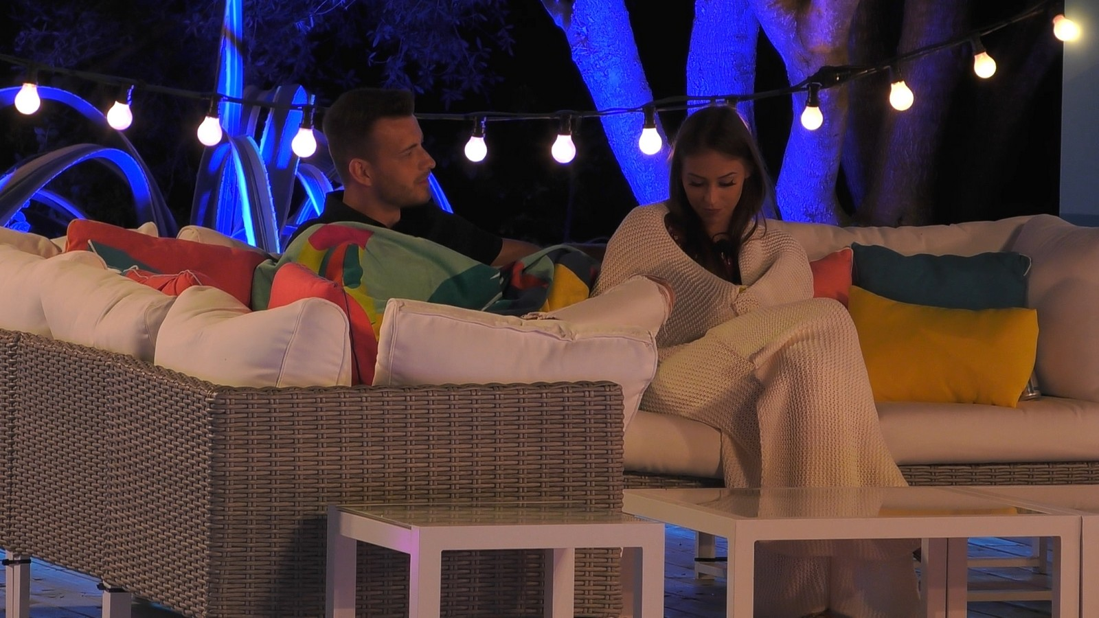 Melina und Luca bei