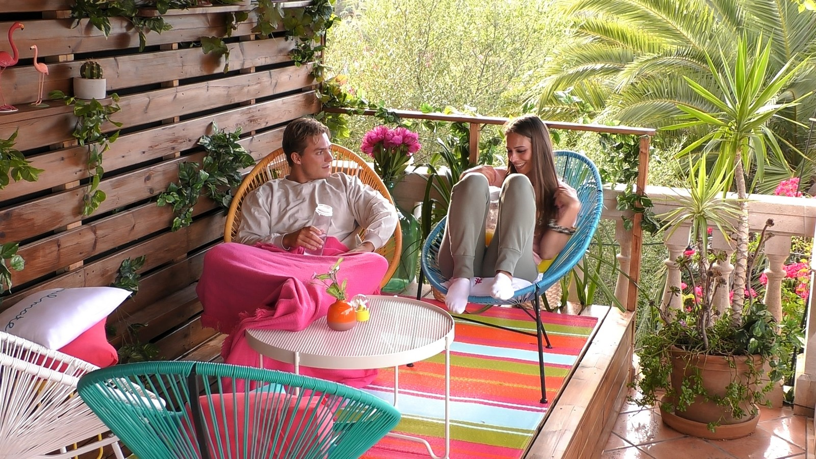 Henrik und Melina bei