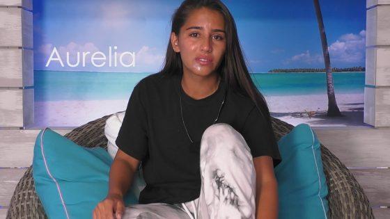 "Aurelia bei ""Love Island"""