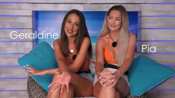 """Geraldine und Pia bei """"Love Island"""""""
