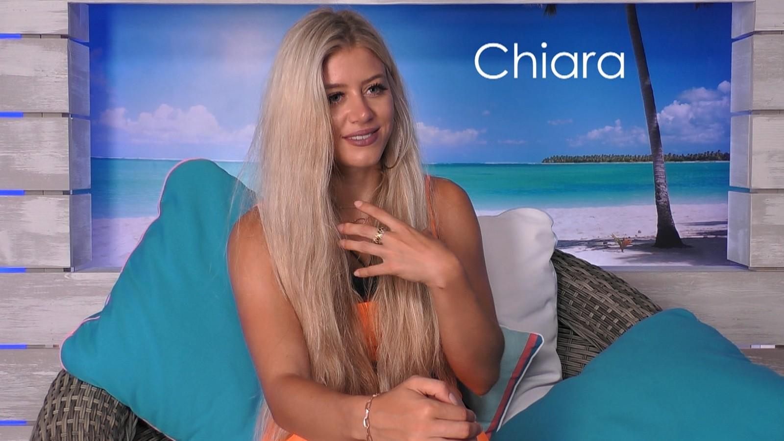 """Chiara bei """"Love Island"""""""