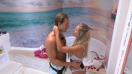 """Henrik und Sandra bei """"Love Island"""""""