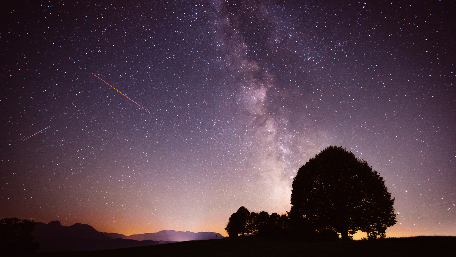 Sternenhimmel Orte Welt