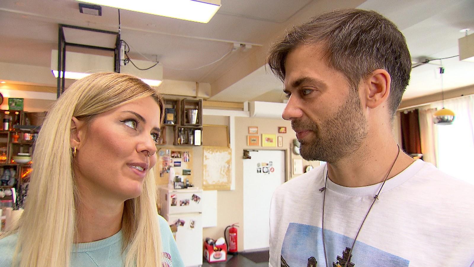 Meike und Vince bei