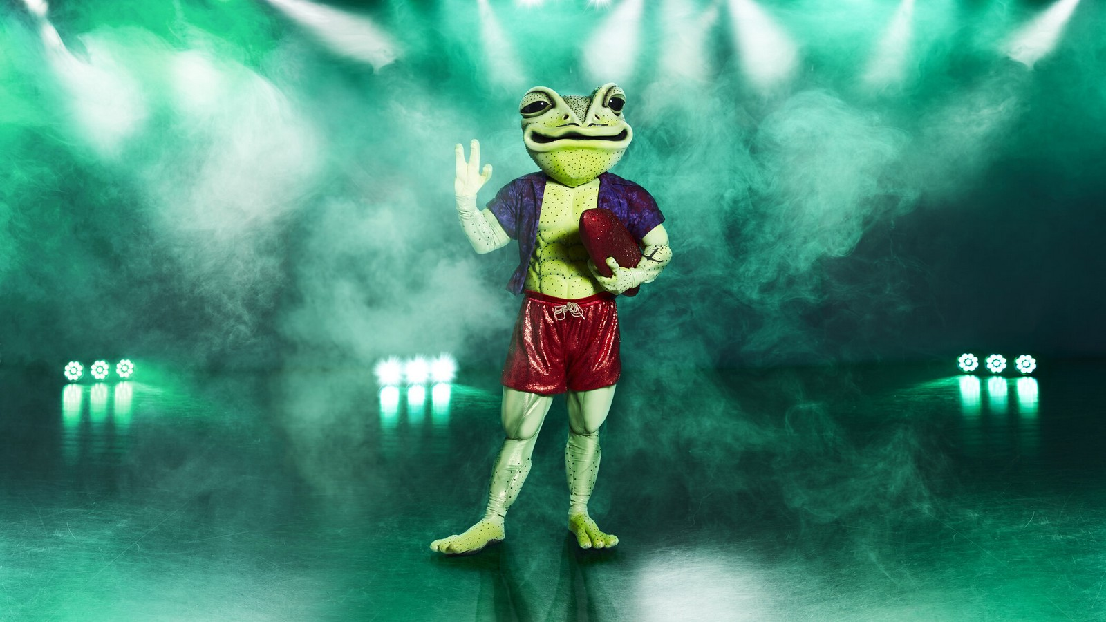 Der Frosch bei