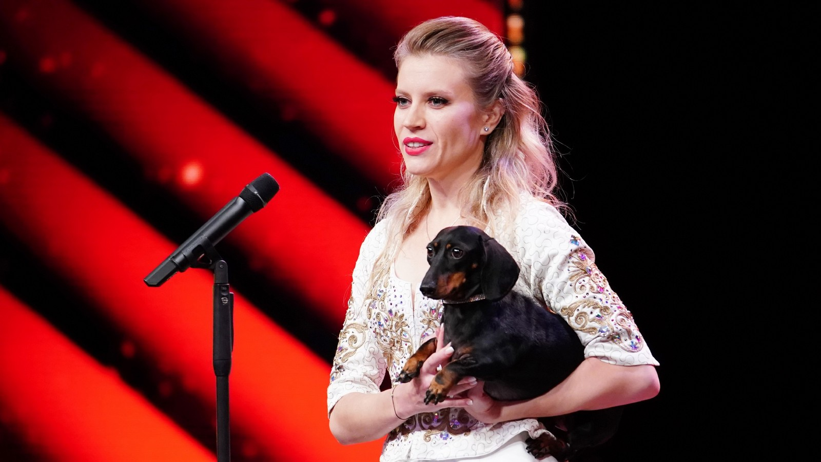 """Supertalent""-Kandidatin Diana Vediashkina"