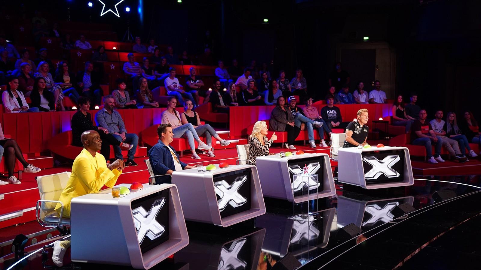 """Die """"Supertalent""""-Jury"""