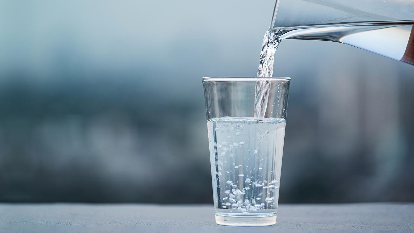 Wasser morgens