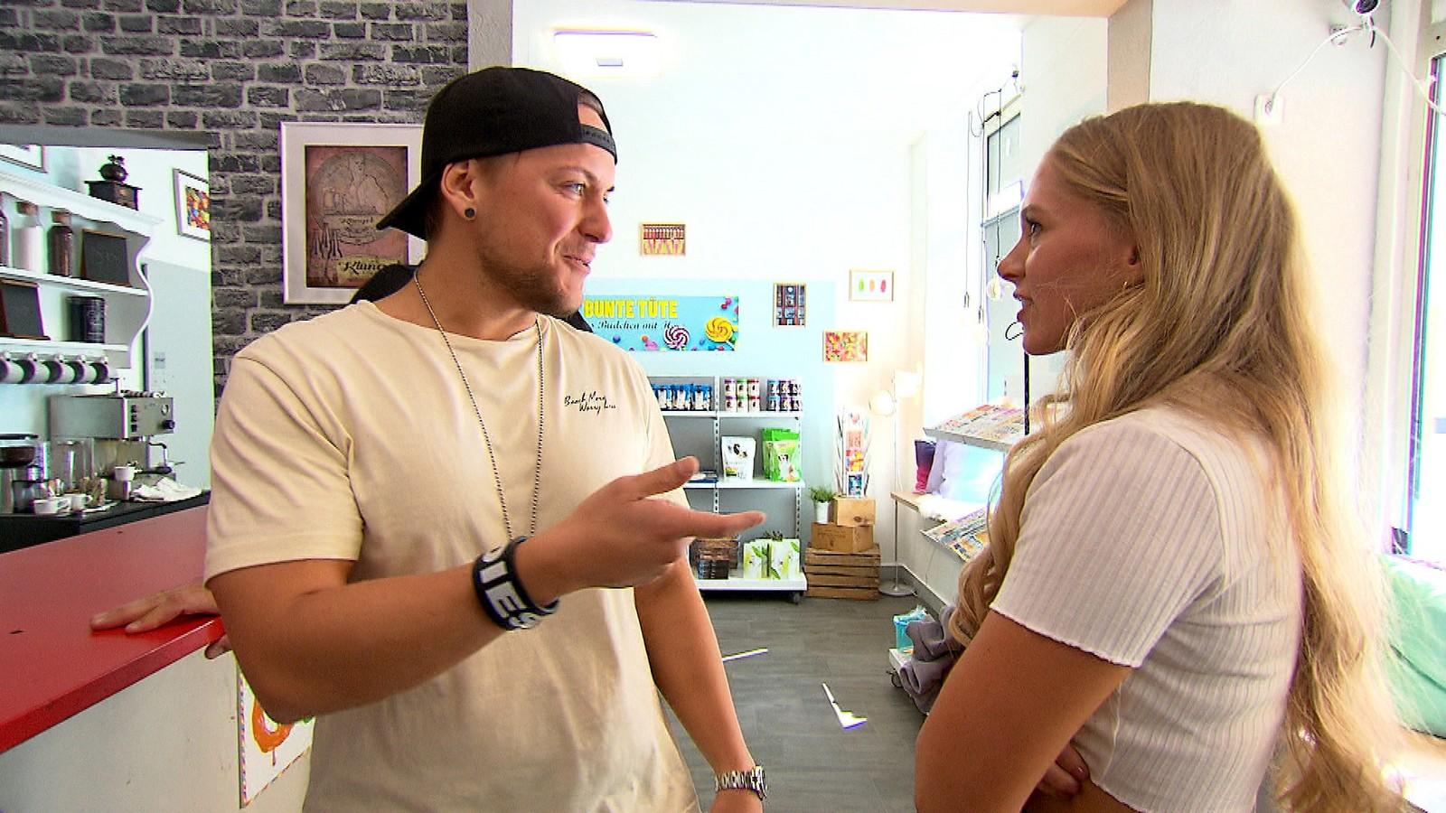 Kevin und Zoe bei