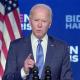 Joe Biden blickt auf Corona