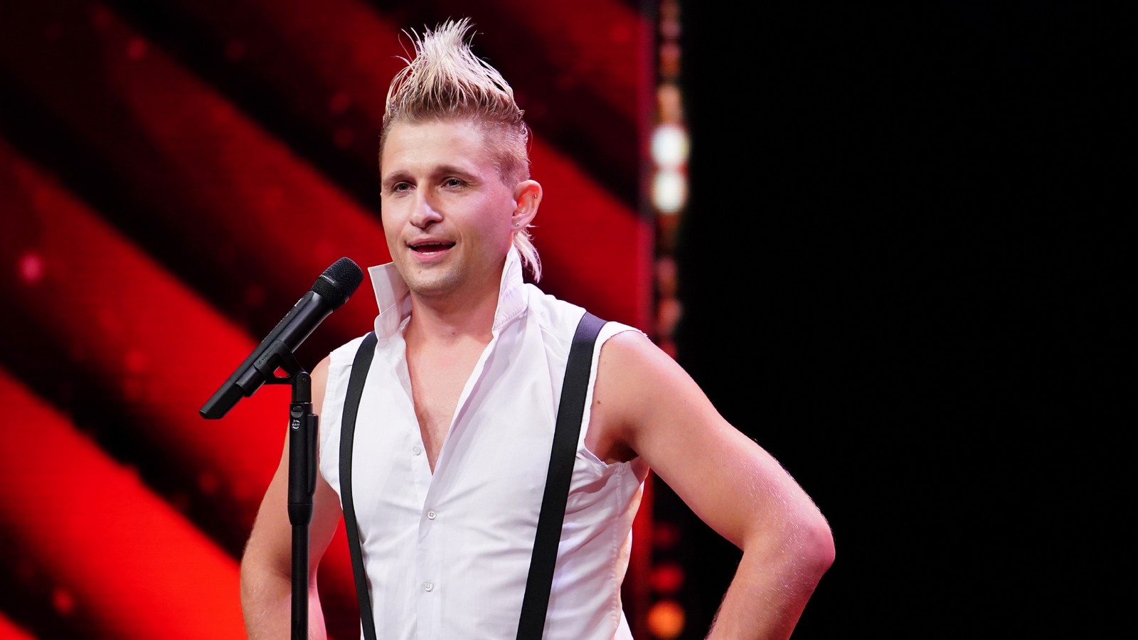 """Supertalent""-Kandidat Vladimir Omelchenko"