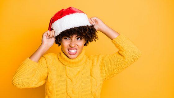 Sternzeichern Weihnachten Hass