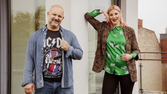 Lutz Schweigel und Laura Maack