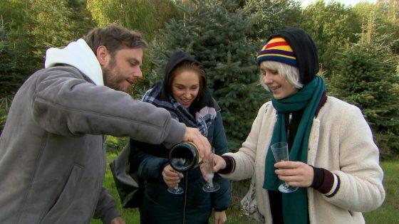 Eric, Milla und Amelie bei