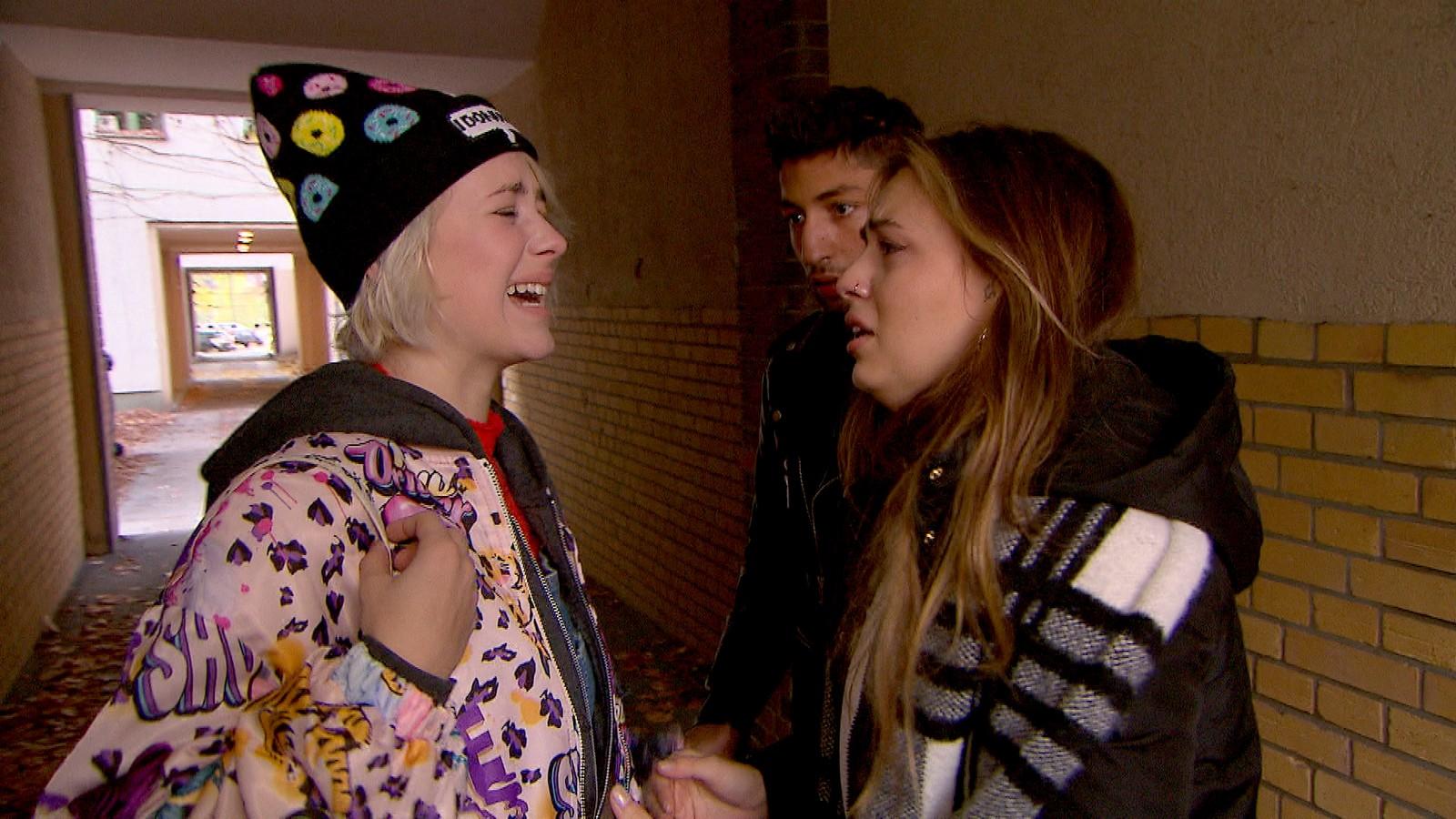 Amelie, Dean und Olivia bei
