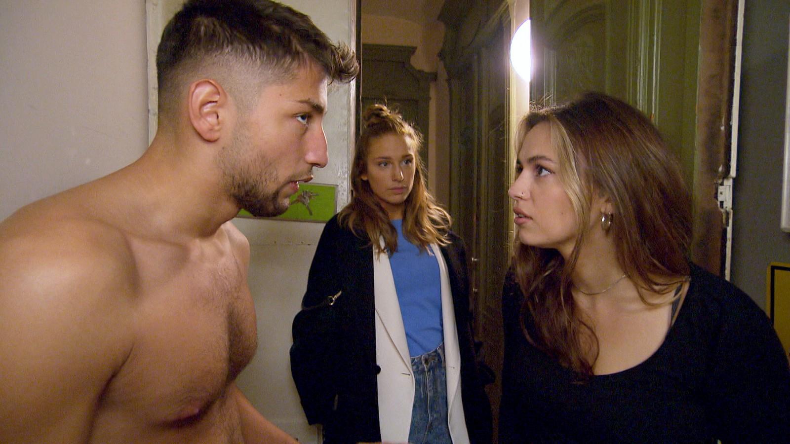 Dean, Milla und Olivia bei