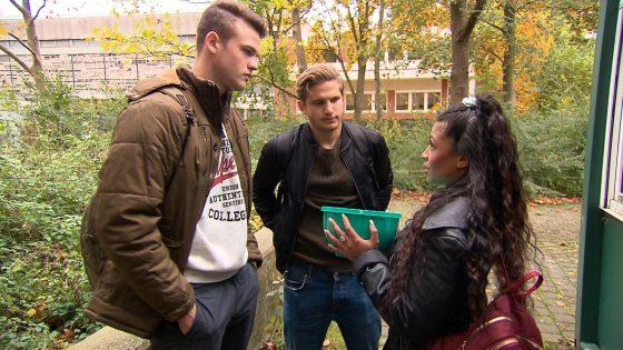 Samantha, Luca und Oskar bei