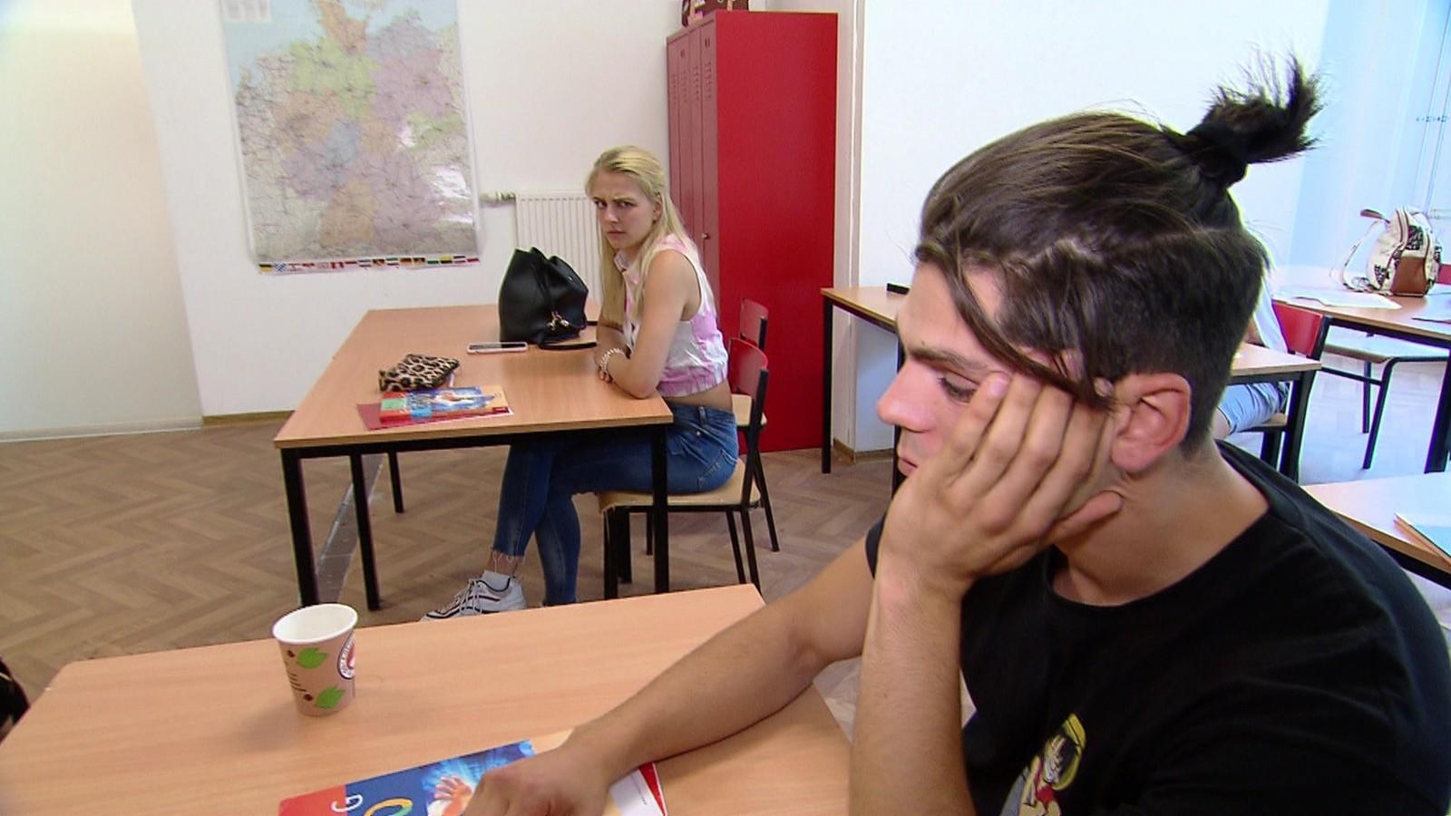 """Tarek in """"Krass Schule - Die jungen Lehrer"""""""
