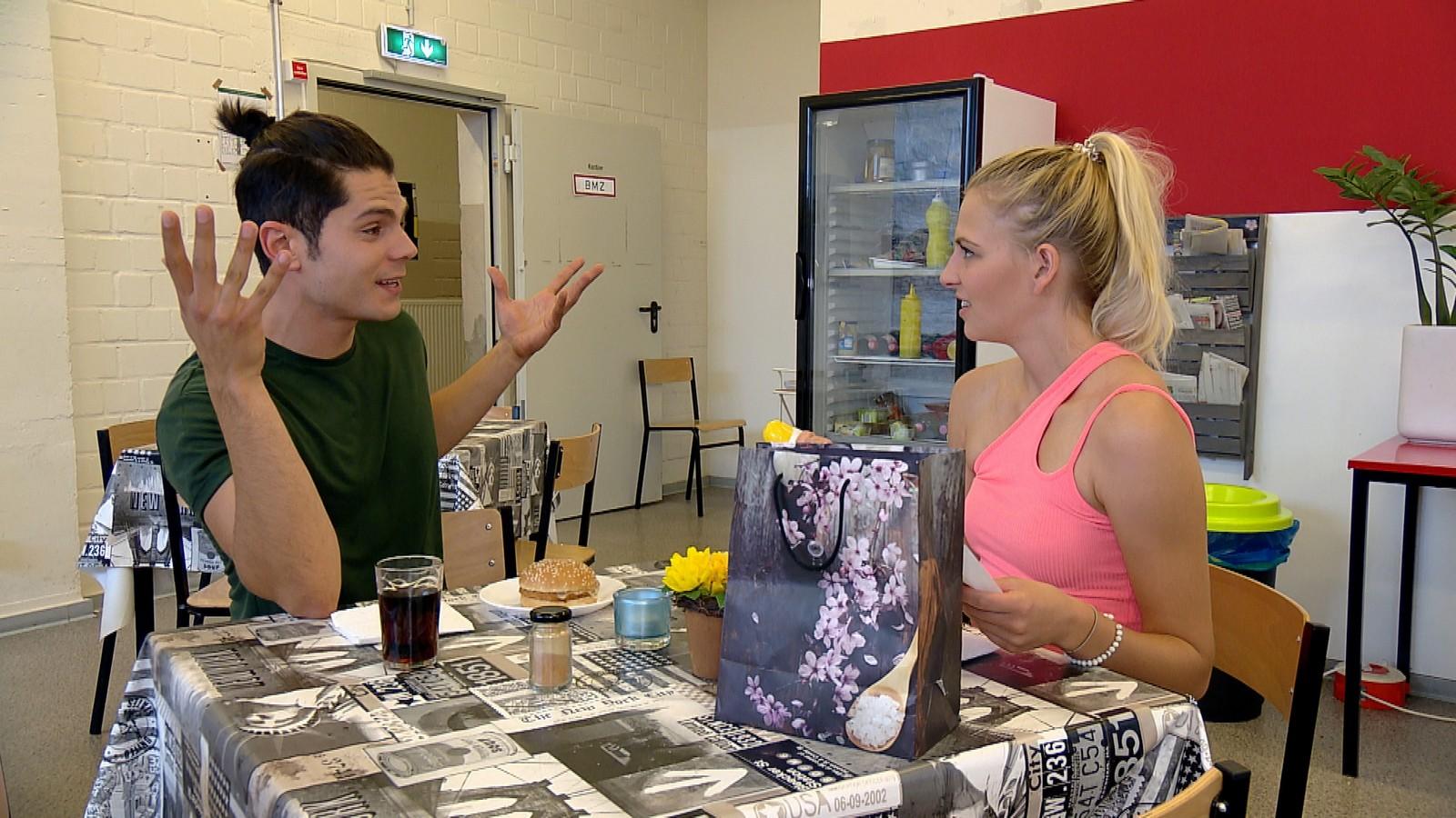 Shayenne und Tarek bei