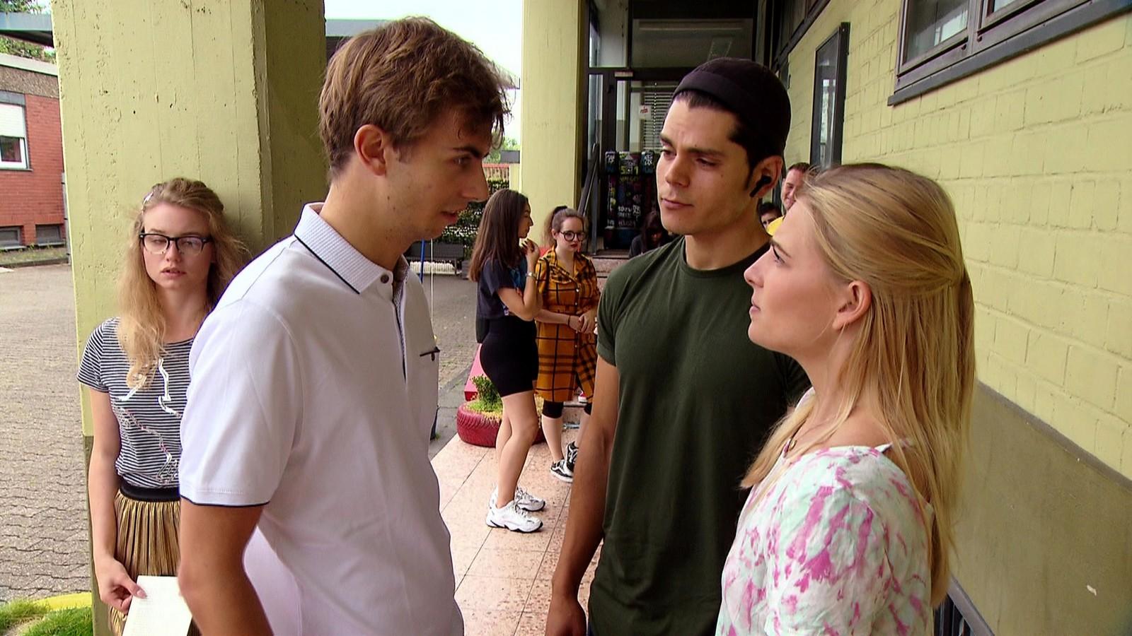 Moritz und Shayenne in