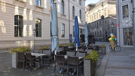 Dresden im Lockdown