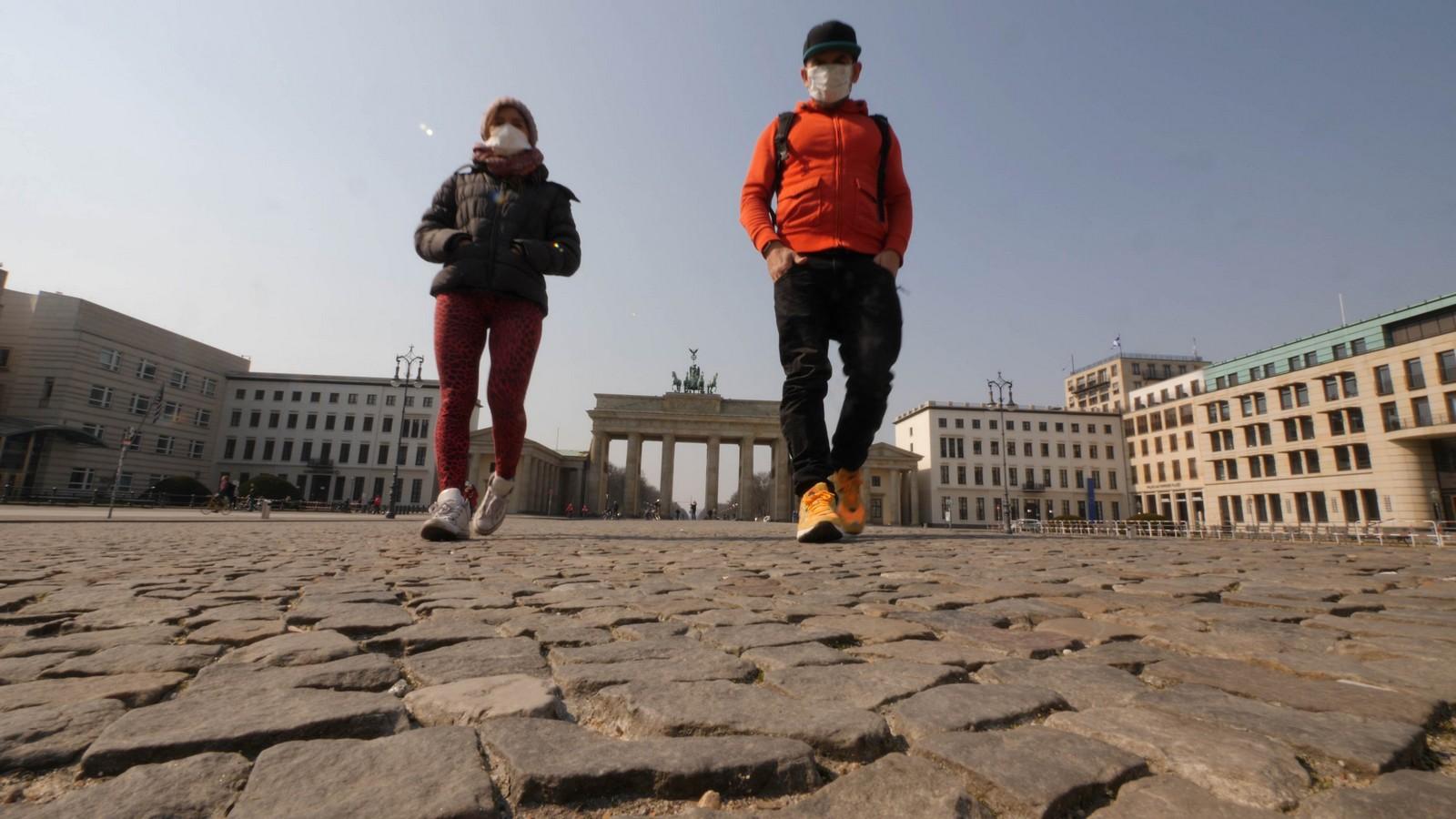 Berlin im Lockdown