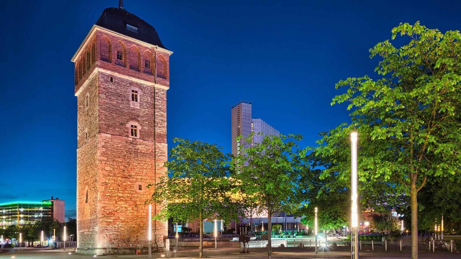 Der Rote Turm in Chemnitz