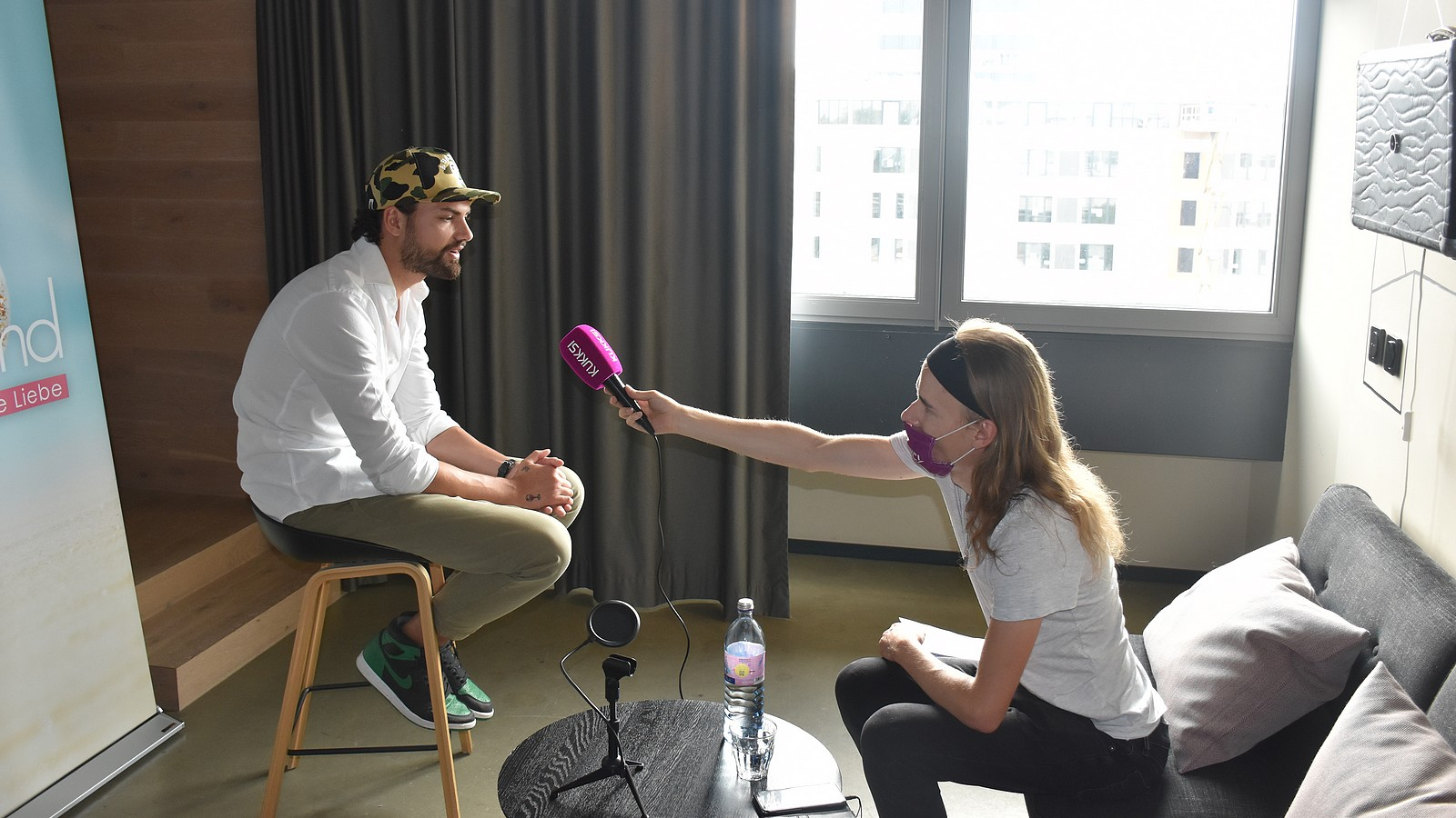 Jimi Blue Ochsenknecht im KUKKSI-Interview mit Reporter Oliver Stangl