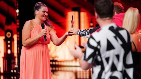 """Supertalent""-Finalistin Vanessa Calcagno"
