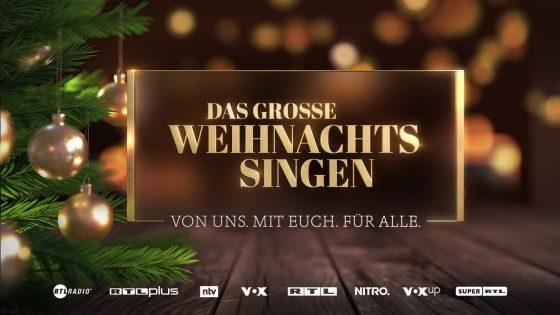 Weihnachtssingen bei RTL