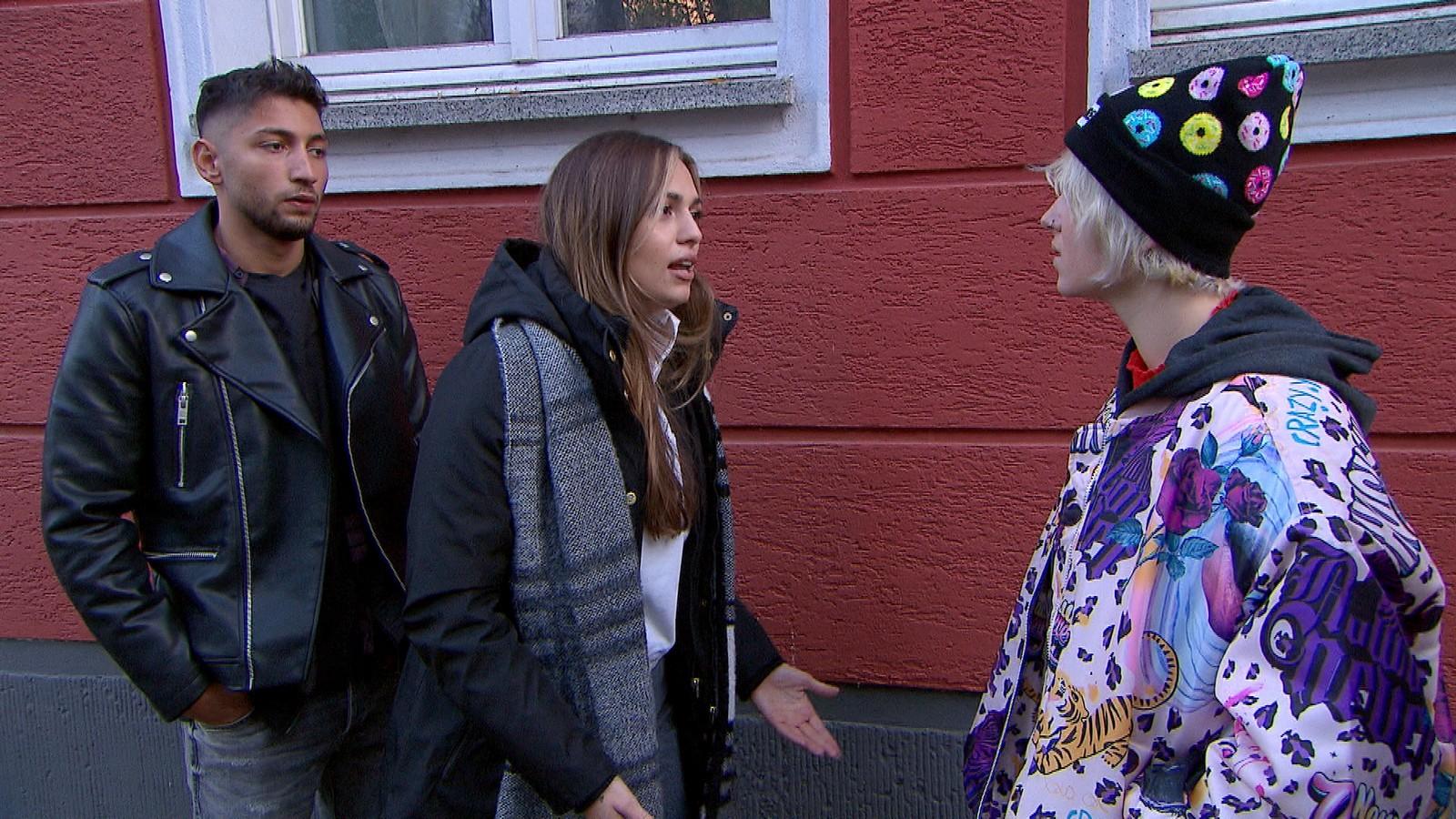 Dean, Olivia und Amelie bei