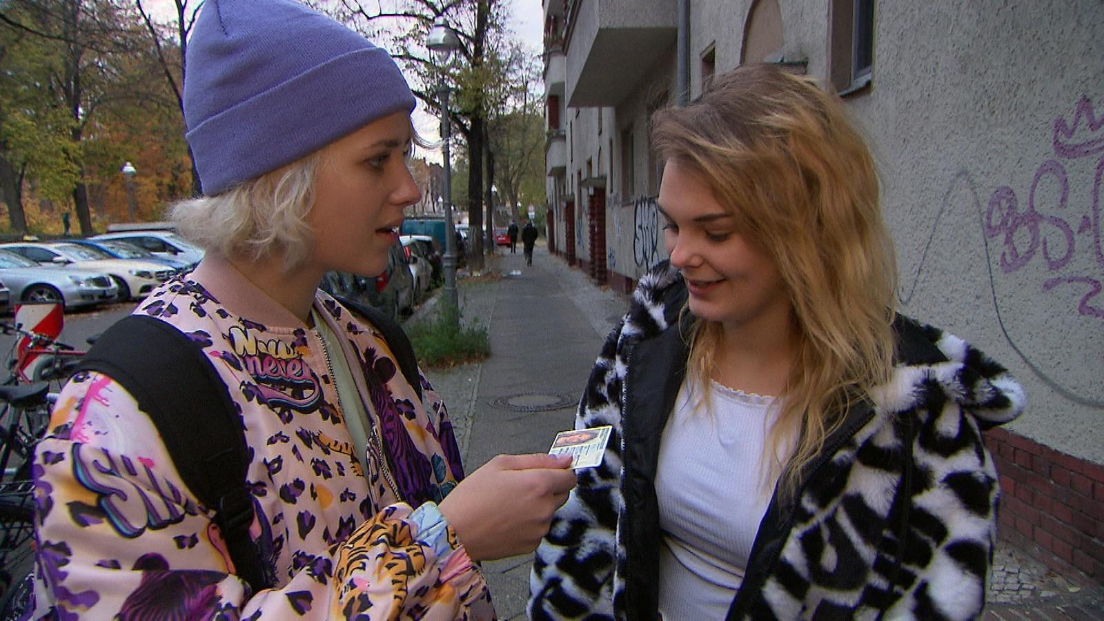 Amelie und Lynn bei