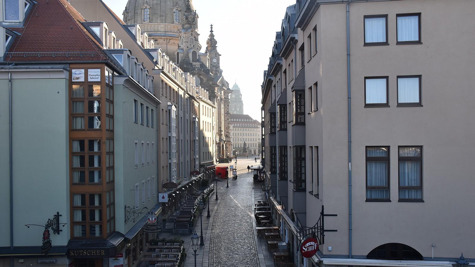 Dresden in Lockdown-Zeiten