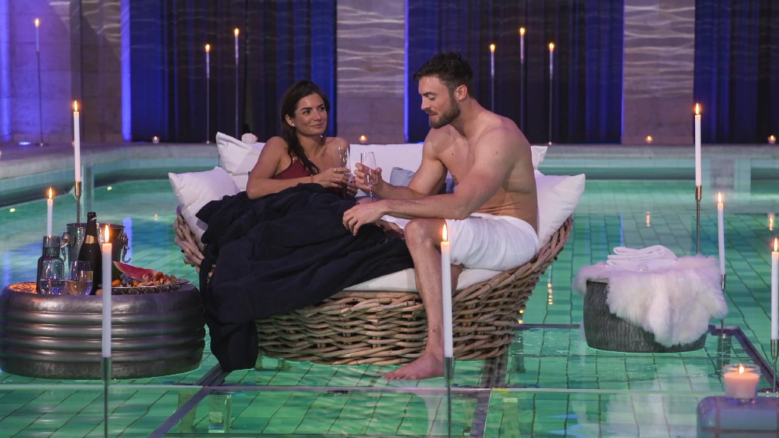 """Michèle und Niko Griesert bei """"Der Bachelor"""""""