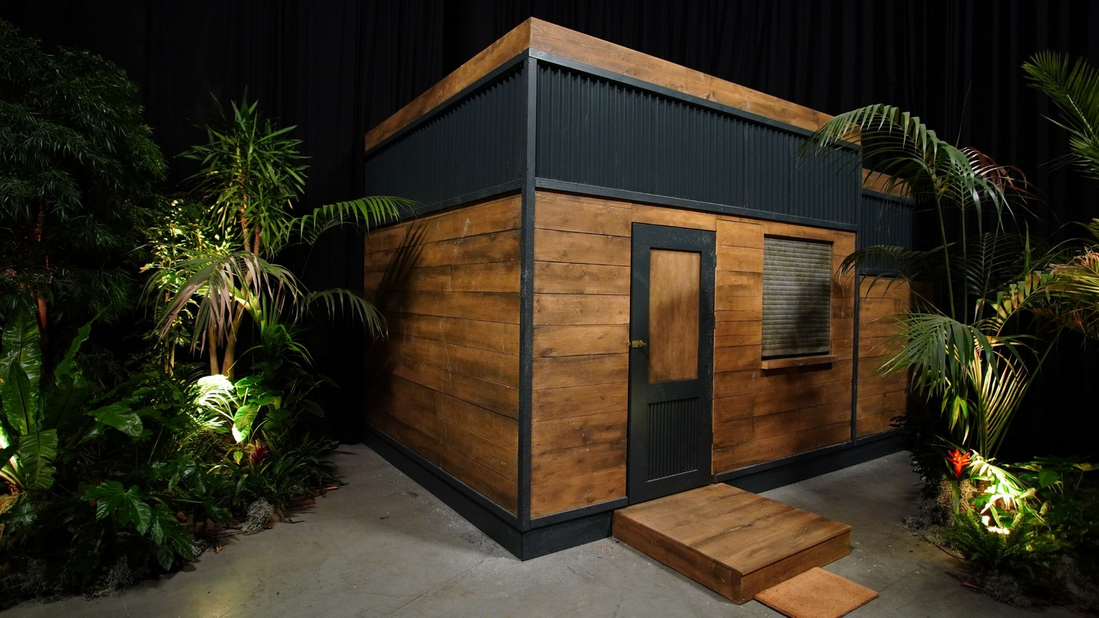 Tiny House in der Dschungelshow