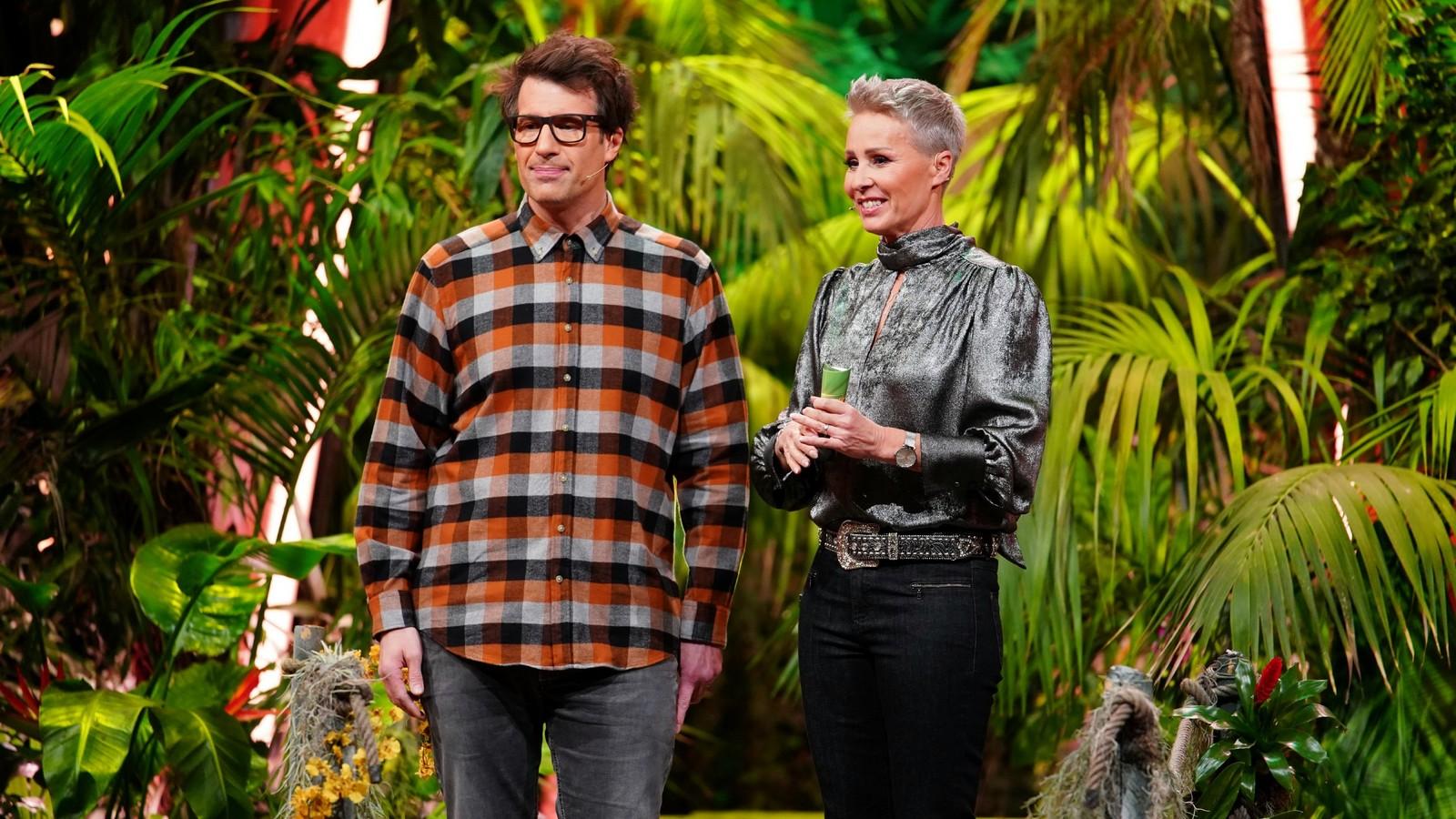 Daniel Hartwich und Sonja Zietlow in der Dschungelshow
