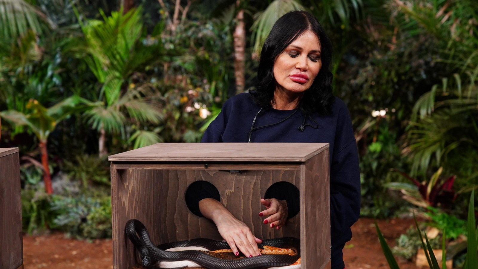 Dschungelshow-Kandidatin Djamila Rowe